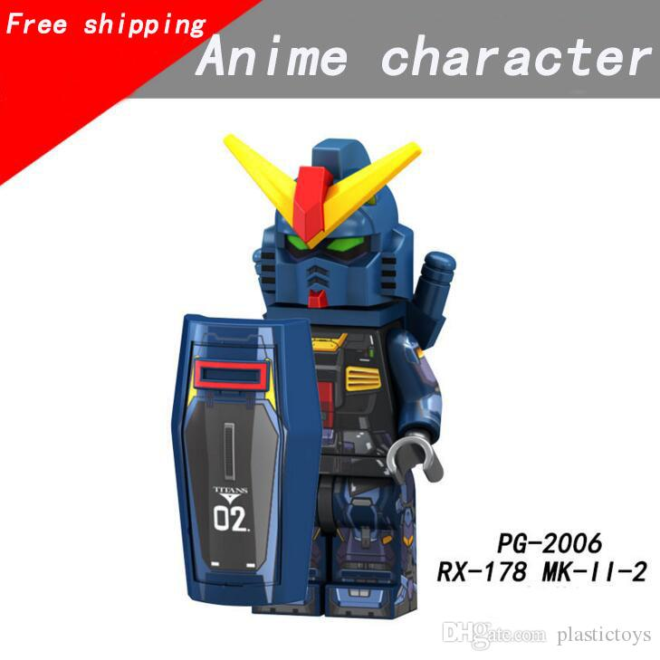 NEW Assembled Toy Building Blocks Children Building Blocks Man Mobile Suit Children Assembled Toys DHL