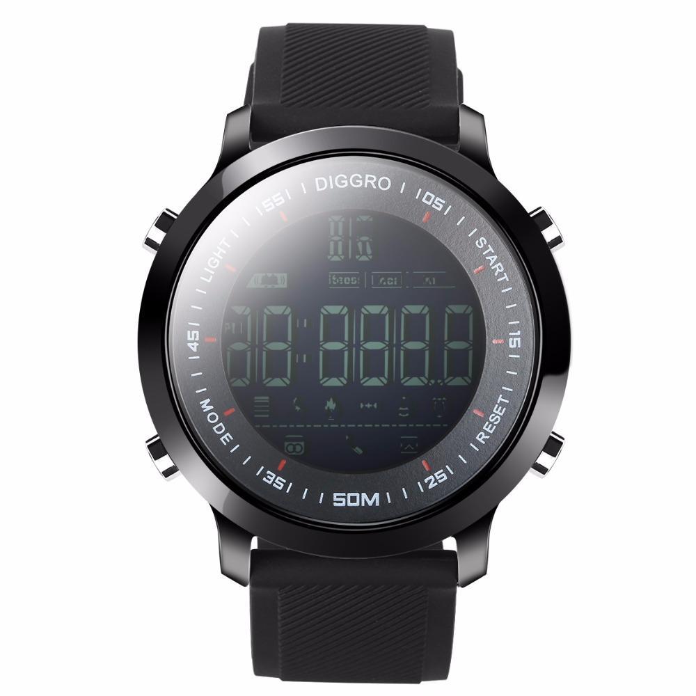 448f1edbee44 Relojes Para Niños Comercio Al Por Mayor EX18 Reloj Inteligente 5ATM  Profesional Impermeable Bluetooth Podómetro Recordatorio De Calorías  Deporte Pulseras ...