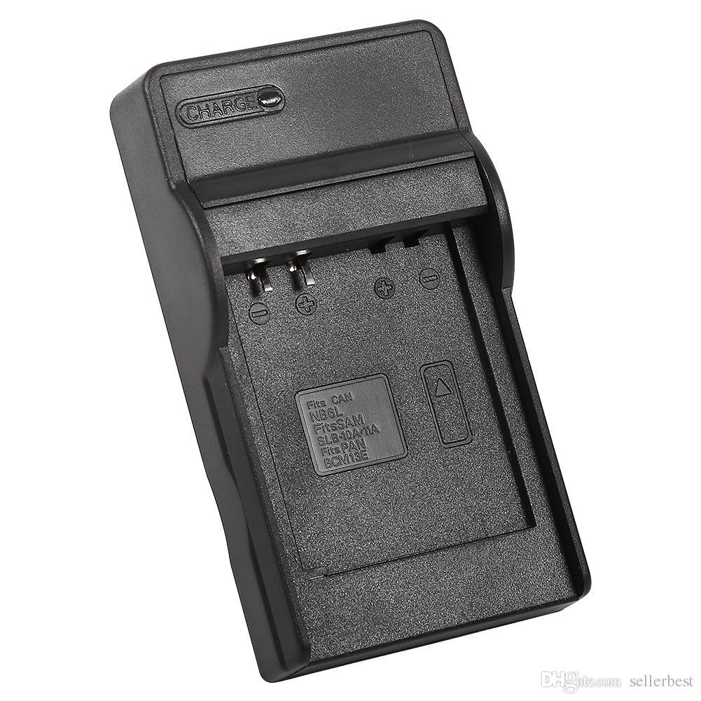 Baterías USB Cargador de baterías SLB-10A / SLB-11A para Samsung ELPH 500 HS SD770 IS SD980 SD1200 SD1300 + Cable USB Envío gratuito