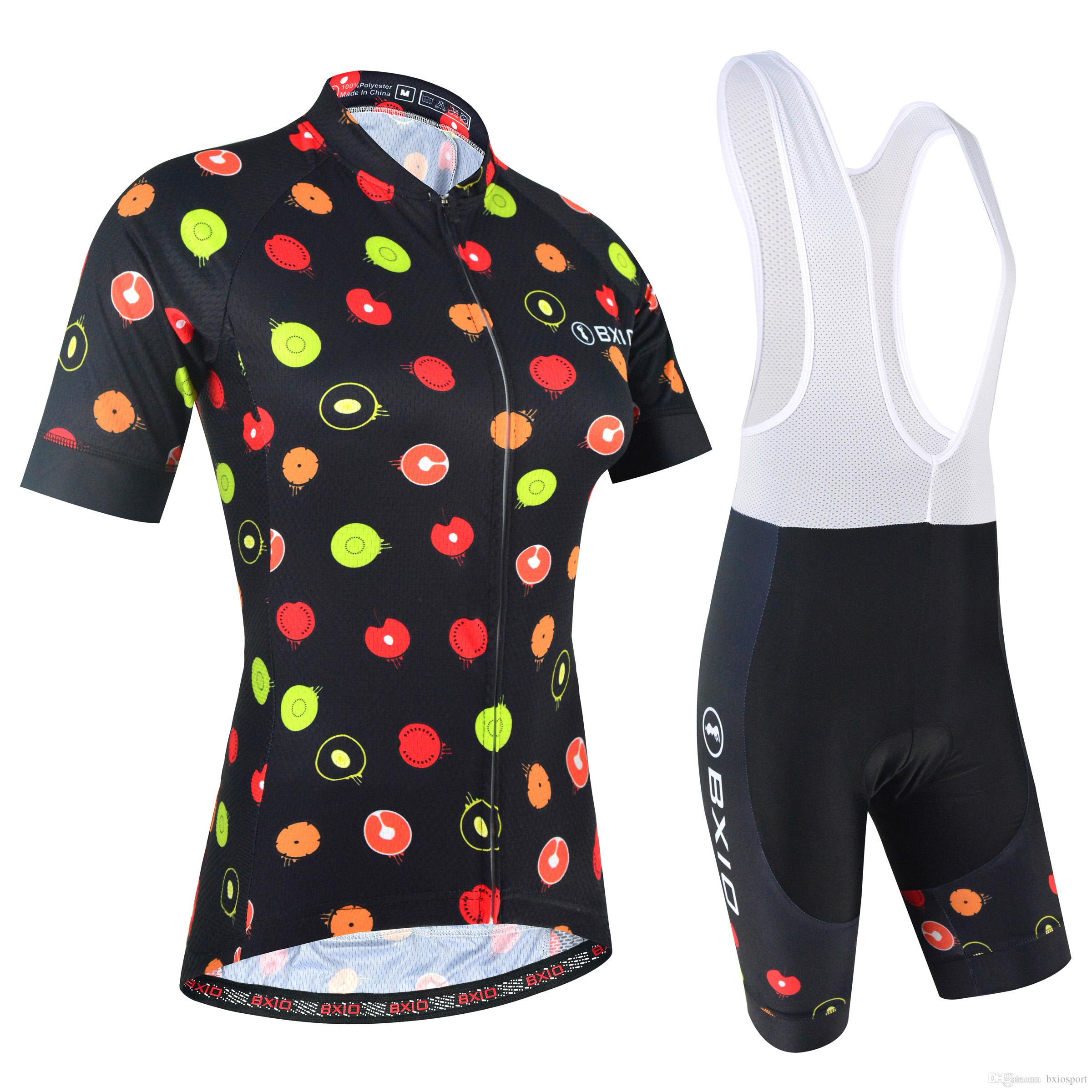2018 BXIO New Cycling Jerseys Design And Colour Bike Clothing Different  Workmanship Cycling Clothing New Style Bicycle Clothing Women BX 166 Winter  Cycling ... 2b699b558