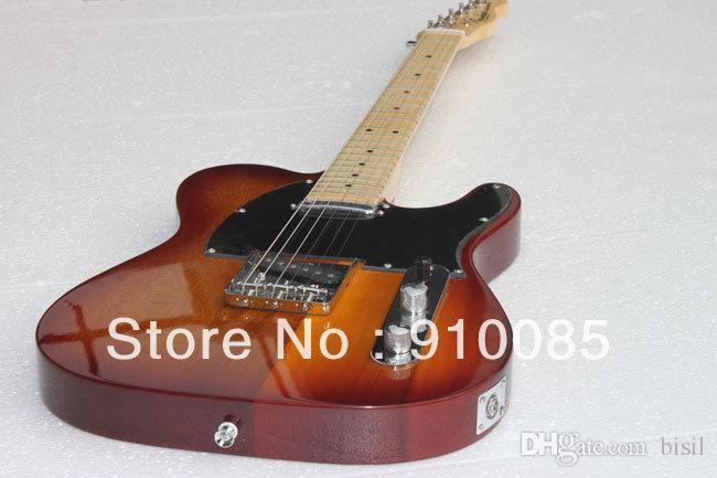Ücretsiz kargo SıCAK! Yüksek Kaliteli Ameican standart telecaster elektro Gitar stokta