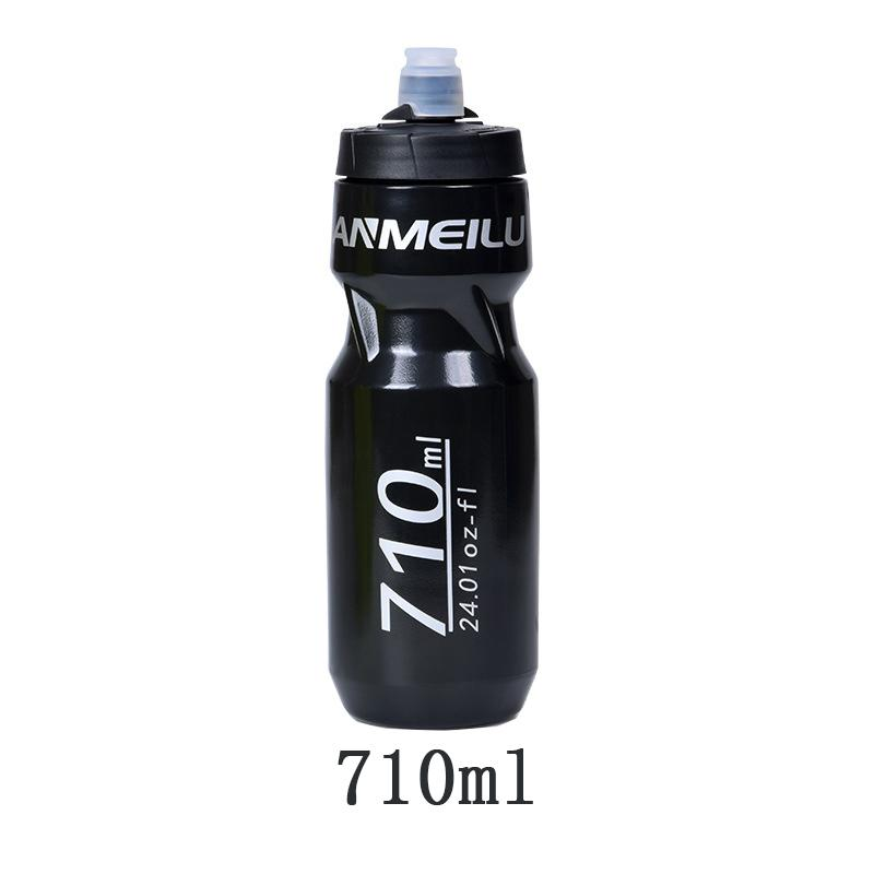 Anmeilu Level 5 PP TPE botella de agua de ciclismo de plástico 610/710ml Portable Sports Riding Bottle de alta calidad de material saludable