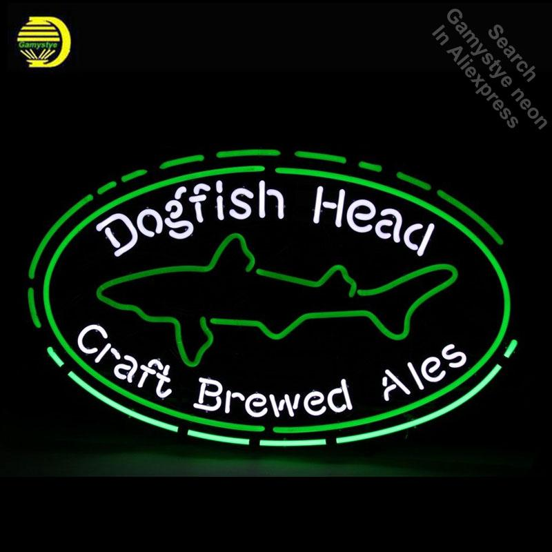 2019 Dogfish Head Neon Sign Craft Brewed Ales Neon Light Glass Tube
