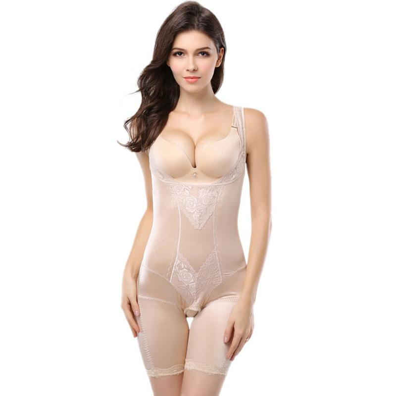 023e8e4ffce8c 2019 Shapewear Women Hot Slimming Products Underwear Sexy Lace Tummy  Control Modeling Strap Body Shaper Women S Bodysuits XXXL From Clothesg519