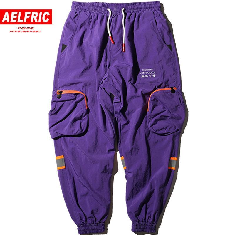 67362b260 Men Hip Hop Harem Pants Letter Embroidery Trousers High Street ...
