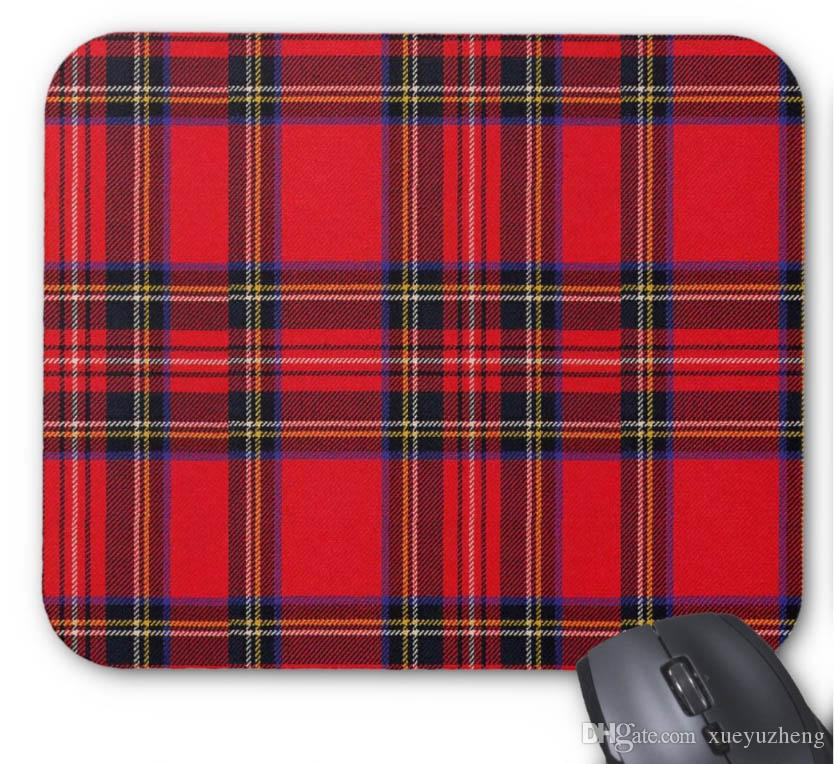 Mouse Pad(Xueyu),Royal Stewart Mouse Pad,9*7.5 inch,Pack of X