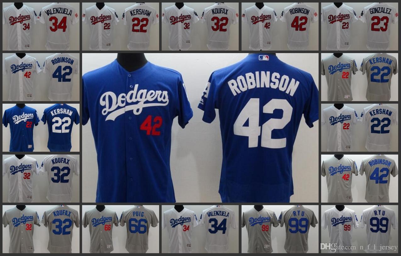bd1cc93582e 2019 Los Angeles Dodgers Men Jerseys  23 Adrian Gonzalez 22 Clayton Kershaw  5 Corey Seager 99 Hyun Jin Ryu Woman Youth Baseball Jersey From  Jerseyoutlet 01