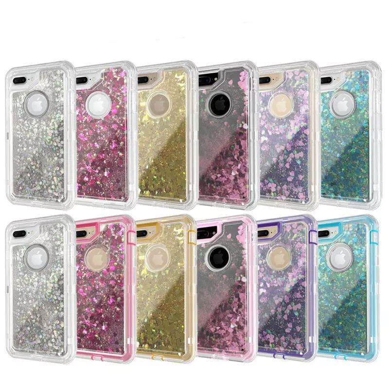 iphone 8 glitter case liquid