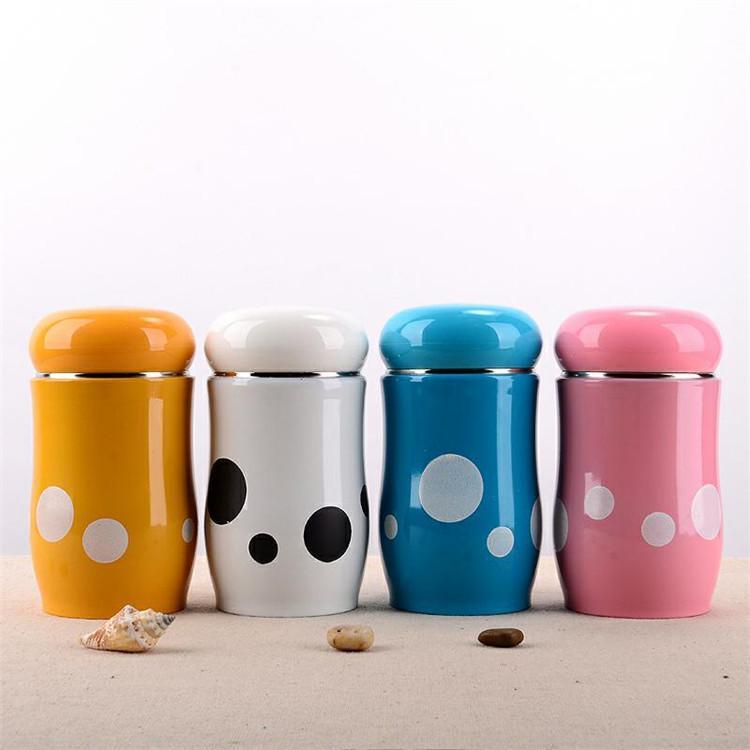 5b693d0945 300ml Mushroom Thermos Vacuum Flask Travel Cup Coffee Mug Stainless Steel  Thermo Water Mugs Kids Creative Cups Customized Photo Mugs Customized  Thermal Mugs ...