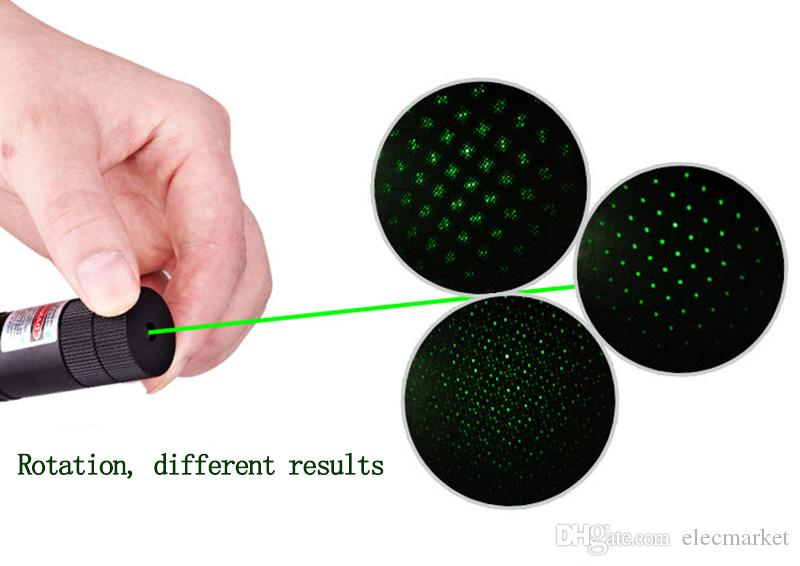 303 مؤشر الليزر الأخضر ليزر ضوء القلم الليزر شعاع الليزر الأخضر الأحمر العسكرية 1 ميجا واط عالية الطاقة