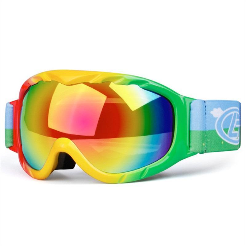 7f131f960f6 Ski Goggles Boy s And Girl s Professional Anti-fog Double Lens UV400 ...