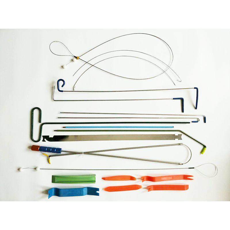 2018 Nuovo Klom Auto Door Quick Open Kit Tool Automotive Fabbro Tool Bag Car Door Lock Pick Set con borsa