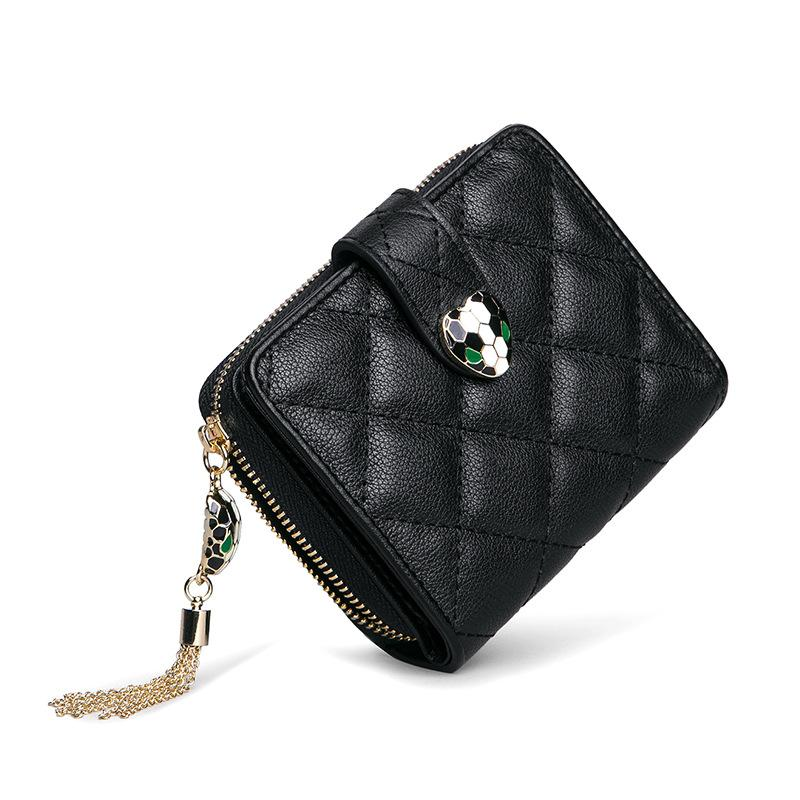 750e24272cc7 New Arrival Designer Genuine Leather Wallet Card Holder Fashion Rhombus Handbags  Female Bag Multi Function Mini Wallets Cowhide Purse Rodeo Wallets Wallet  ...