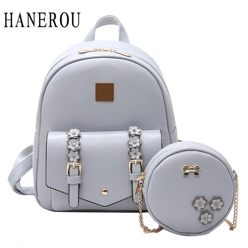 8e7e0ab02b 2018 Fashion Flowers Backpack Women Bag School Bags For Girls Backpacks New  Belt Shoulder Bags Top PU Leather Backpack Best Laptop Backpack Wheeled ...