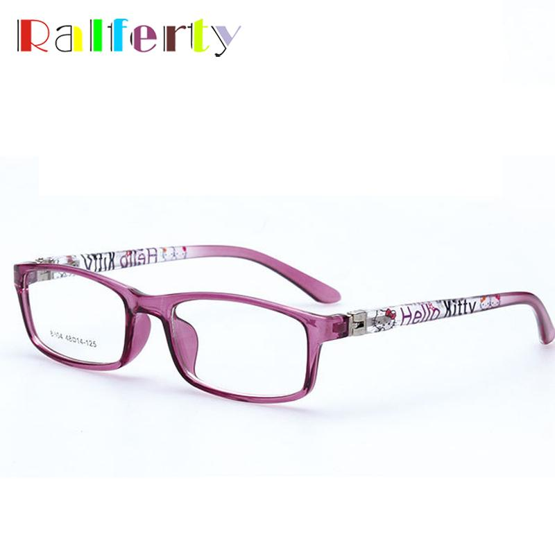 2019 Ralferty Kids Optical Glasses Frames Boy Girl Myopia