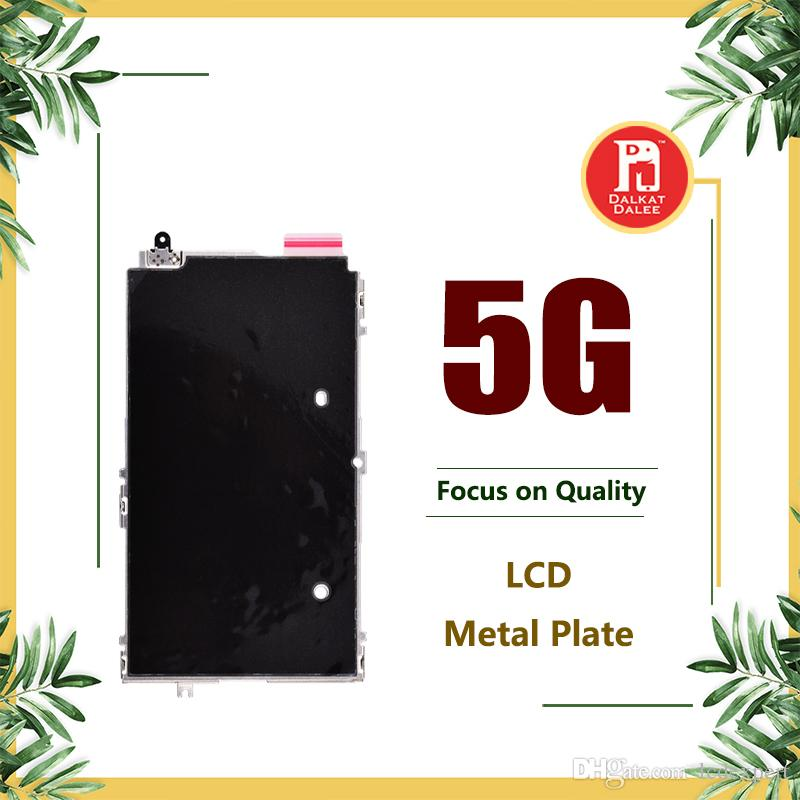 LCD Digitizer Metal Plate Shield Back Bezel For iPhone 5 5G LCD Display Metal Cover Replacement Parts