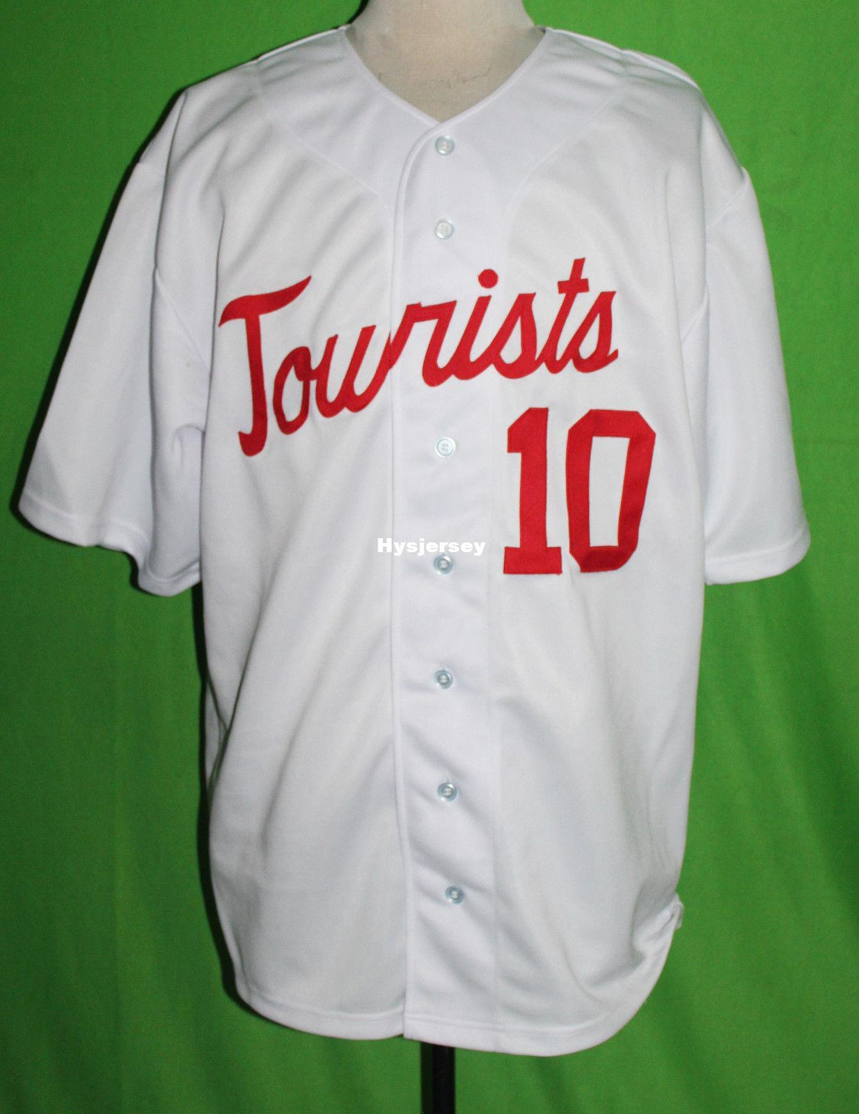 buy online d7aaa 11acb Cheap Retro ASHEVILLE TOURISTS #10 1968 Home BASEBALL JERSEY Or Custom any  number any Mens Vintage jerseys XS - 5XL