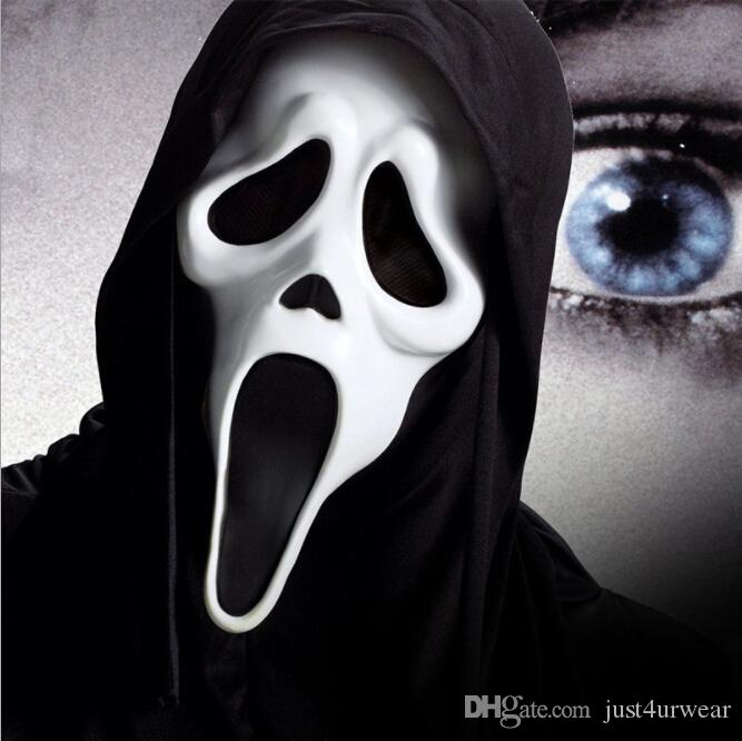 Halloween Costumes Mens Women Kids Ghost Vampires Masks Skeleton Witch Scary Masks Scream Cosplay Costume Accessories Free Shipping