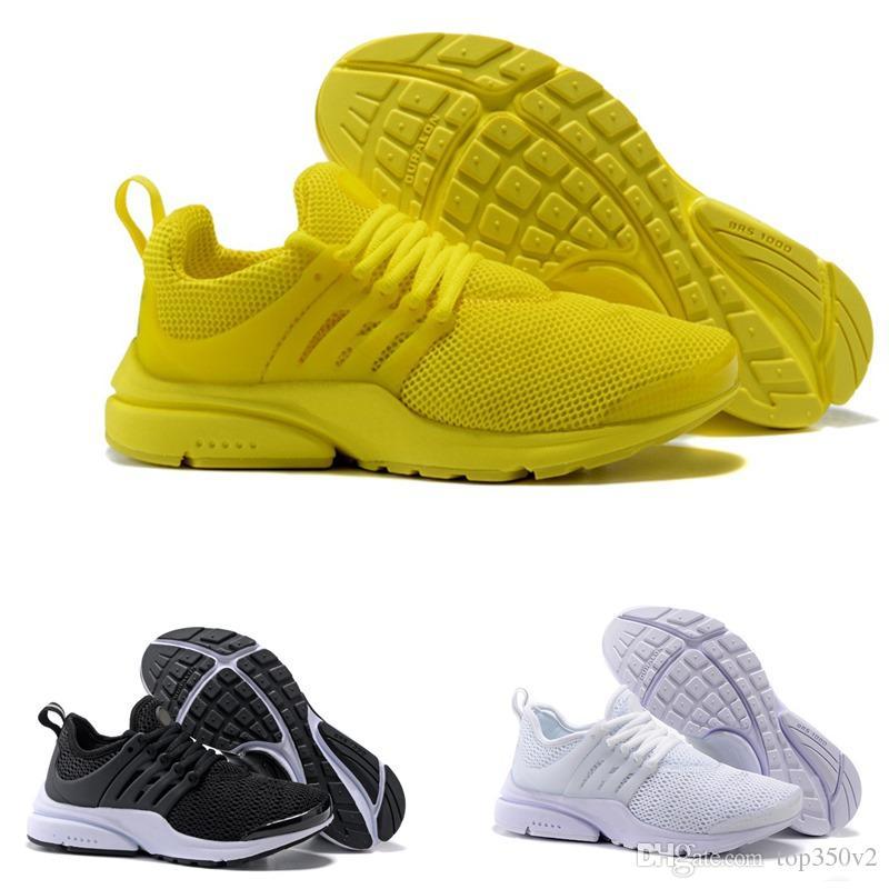 classic fit fe32d 8f964 2018 Nuevo PRESTO BR QS Breathe Amarillo Negro Blanco Hombre Prestos Zapatos  Zapatillas De Deporte Mujer, Zapatillas De Deporte Para Hombres Zapatillas  De ...