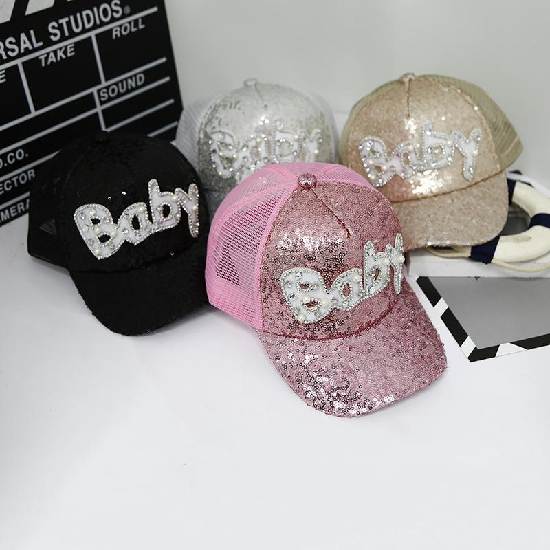 8b8f928cdeb 2018 Glitter Ponytail Baseball Cap Women Snapback Hat Summer Messy Bun Mesh  Hats Casual Adjustable Sport Caps Drop Shipping Boby Trucker Hat 59fifty  From ...