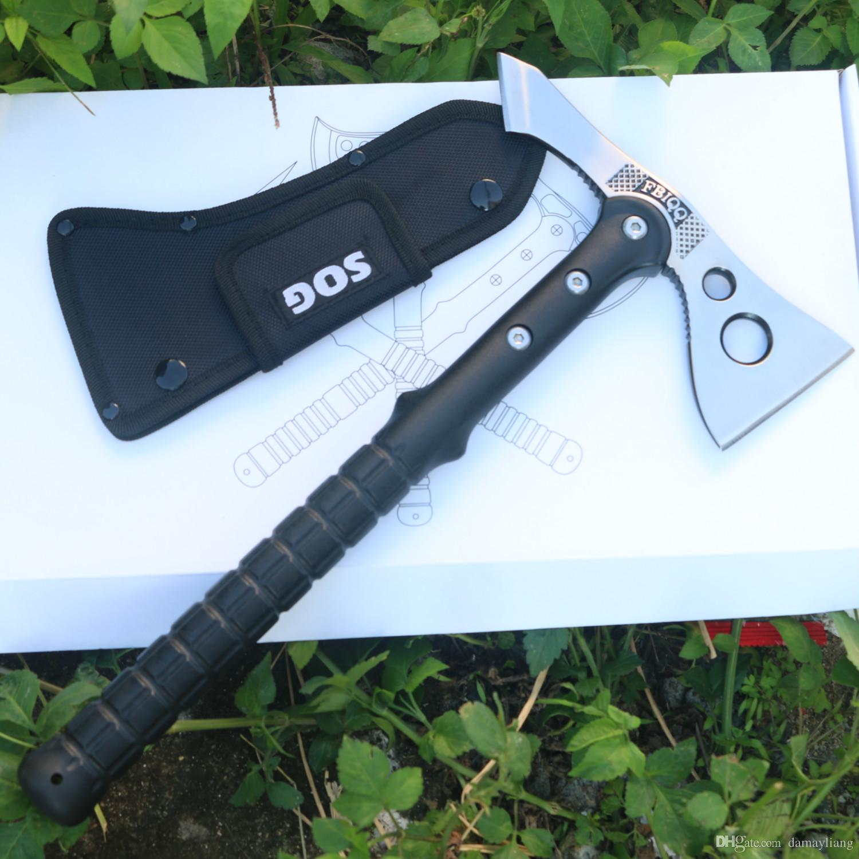 FBIQQ Tactical Axe Outdoor Hunting Camping Survival Machete Axes Hand Tool Fire Axe Hatchet Axe