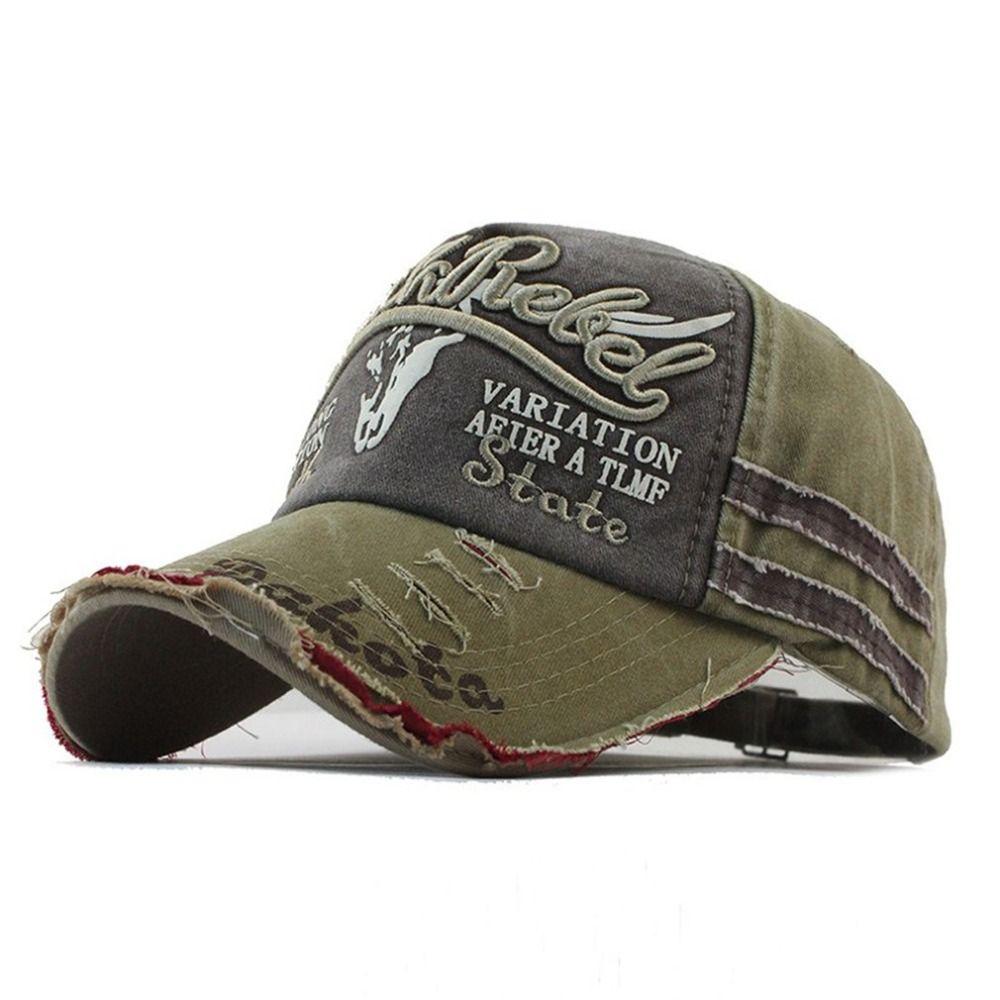 Ripped Denim Baseball Cap Snapback Hat Men s Hip Hop Fitted Hat Caps For  Women Adjustable Gorras Casquette Unisex Sunhats C05 Custom Trucker Hats  Compton ... ac8cadf1b45