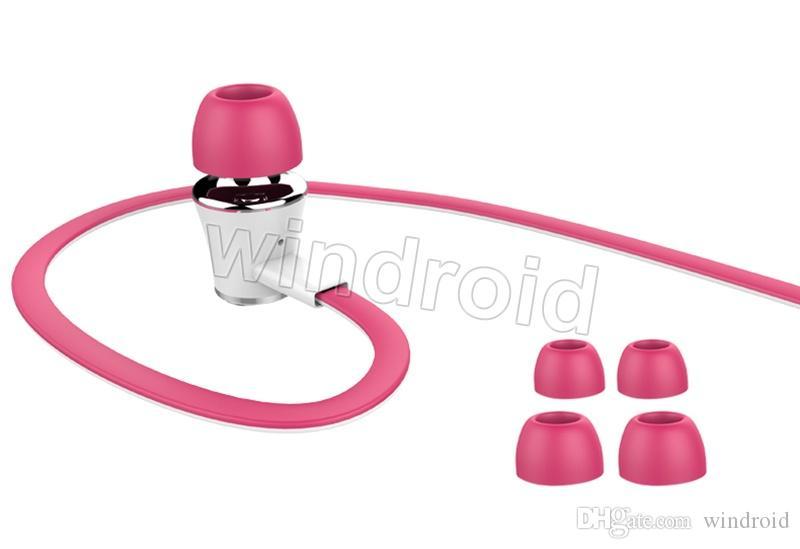 Langsdom JM21 In Ear Kopfhörer mit Micphone Bunte Kopfhörer Hifi Earbuds Bass Kopfhörer für Handy mit Kleinpaket Versand DHL