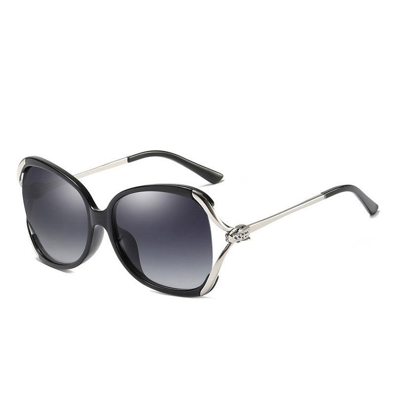 Degradada Gafas Marca Vintage De Polarizadas Gran Sol Para Mujer Tamaño Mariposa Diseño Mujeres Lujo 0OP8XknZwN