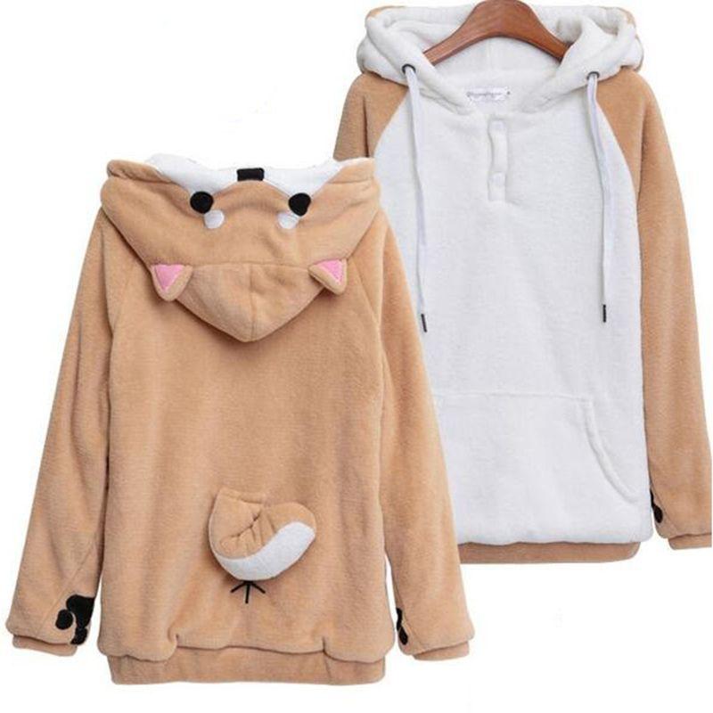 Considerate New Harajuku Women Casual Hoodies Fashion Loose Womens Printed Letter Ladies Hooded Bf Trendy Tops Korean Style Lady Drawstring Hoodies & Sweatshirts