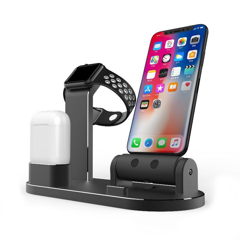 Ladestation Ständer Halter für AirPods IPad Air Mini für Apple Watch  i-Watch 38mm 42mm für iPhone X 8 7 6 6S 5S SE Plus
