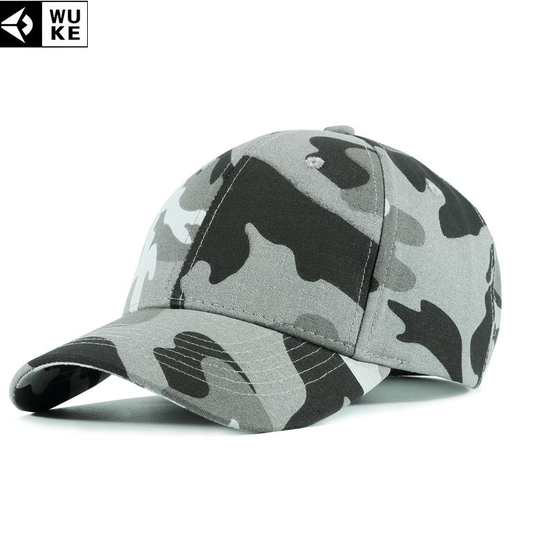 24ac7d3bd4a WUKE CaCap Men Adjustable Baseball Cap Camouflage Caps Men s ...