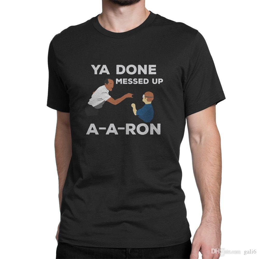 15261957 YA DONE MESSED UP AARON Men'S Clothing T Shirts Tees T Shirt On ...