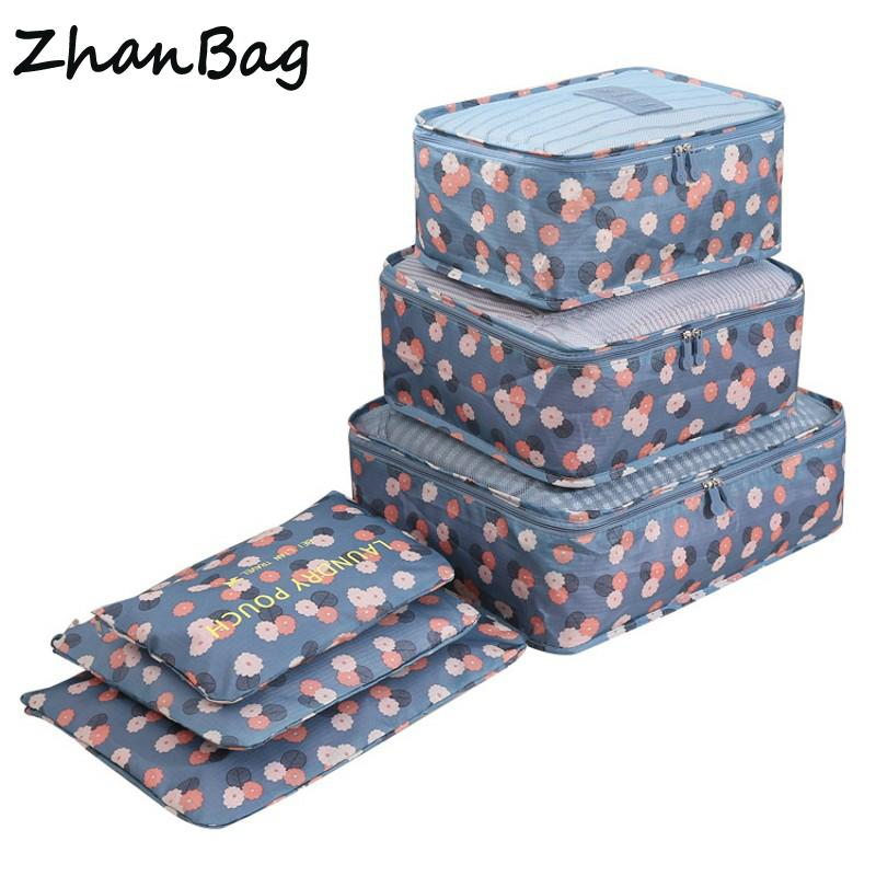 83d0547b9fd0   Set High Quality Oxford Mesh Cloth Travel Bag Organizer Luggage Packing  Cube Organizer Personal Hygiene Kits Travel Bags Leather Bags Laptop Bags  For ...