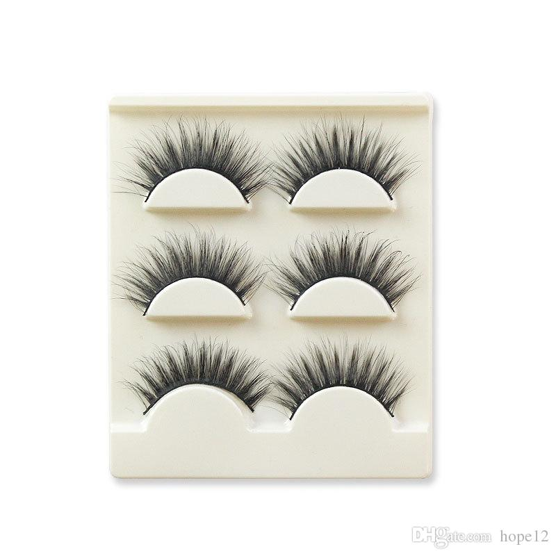 3D False eyelashes 16 Styles Handmade Beauty Thick Long Soft lashes Fake Eye Lashes Eyelash Sexy