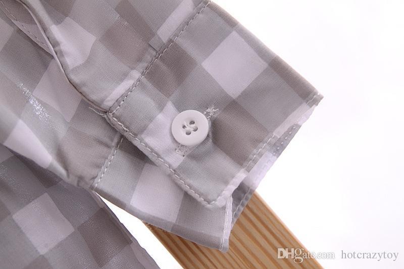 Baby Boys Suits European Style Fashion Shirt+Vest +pants Plaid Suits Children Boys outfits Sets Infant Cotton Suit babies clothes