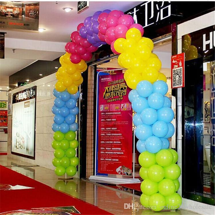 Wedding Balloon Arches Shelf Backets Kit Portable Opening Frame Stand Base Set Birthday Party Decoration Air In A From