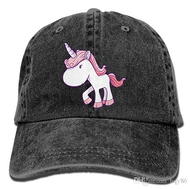 ccf0bbefbac9f Unicorn Adult Cowboy Hat Baseball Cap Adjustable Athletic Custom Printed  Unique Hat for Men And Women Hat Cap Baseball Cap Online with  11.68 Piece  on ...