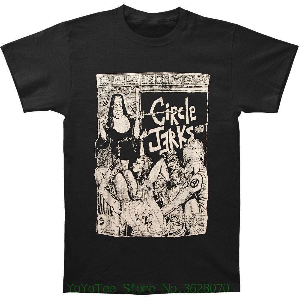 654e38f5 Acheter Tee Shirt Haut En Coton À Petit Prix Pour Filles Adolescentes  Circle Jerks Men '; S Bad Religion T Shirt Slim Fit Noir De $12.08 Du  Amesion32 ...
