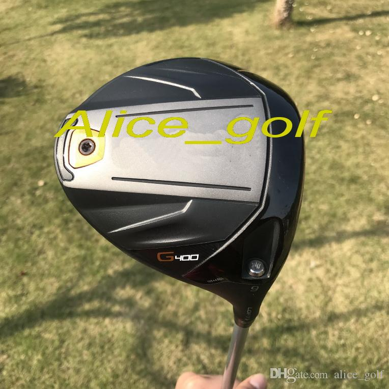 OEM quality golf driver G400 driver 9 or 10.5 degree with G400 graphite shaft stiff flex headcover/wrench golf clubs