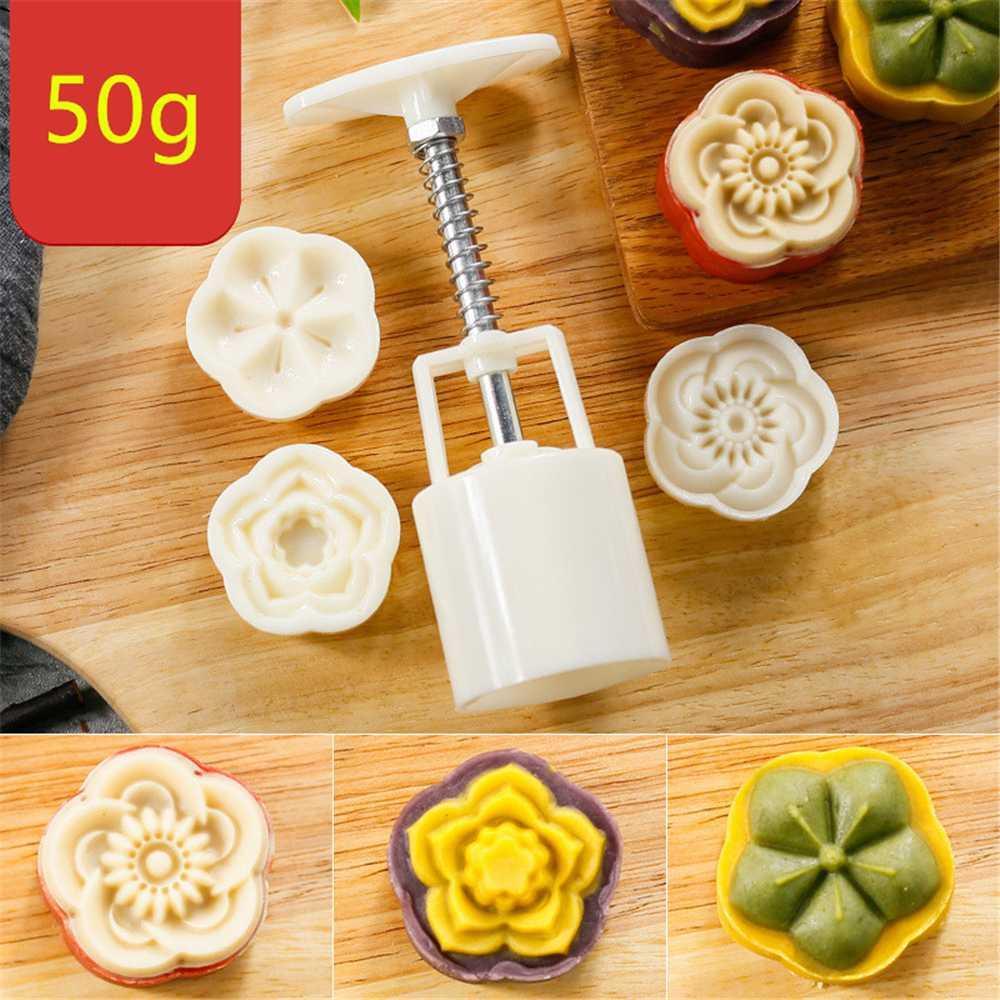 Acheter Amw Cuisine Accessoires Fleur Lune Moule Moule 50g En