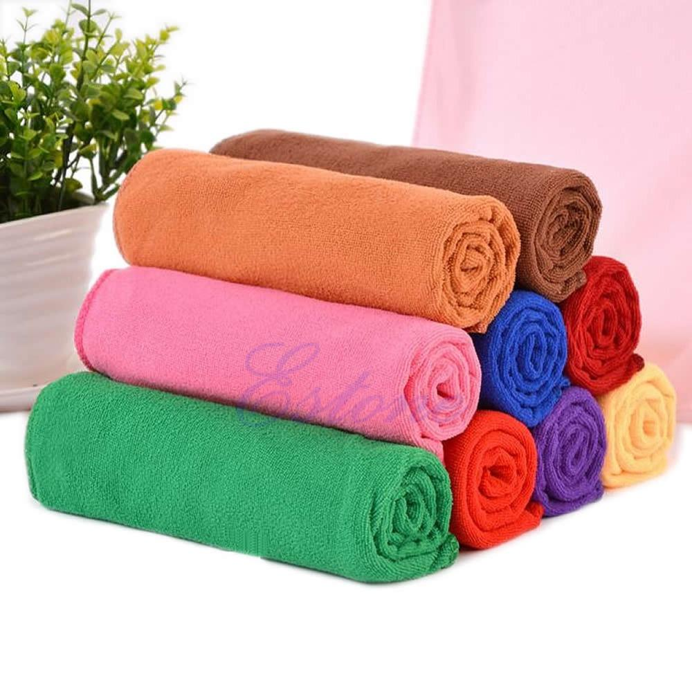 2018 Microfiber Absorbent Bath Beach Towel 70x140cm Drying Washcloth ...