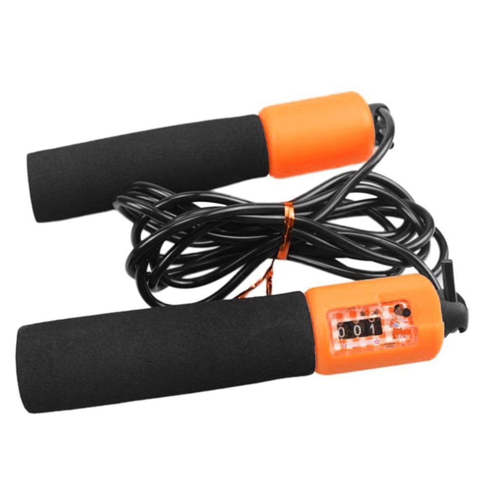 Compre 2.8 M Crossfit Fitness Equipment Esponja Ajustável Corda Pular  Exercício De Musculação Rolamento Corda De Salto De Curtainy d1a8584469b43
