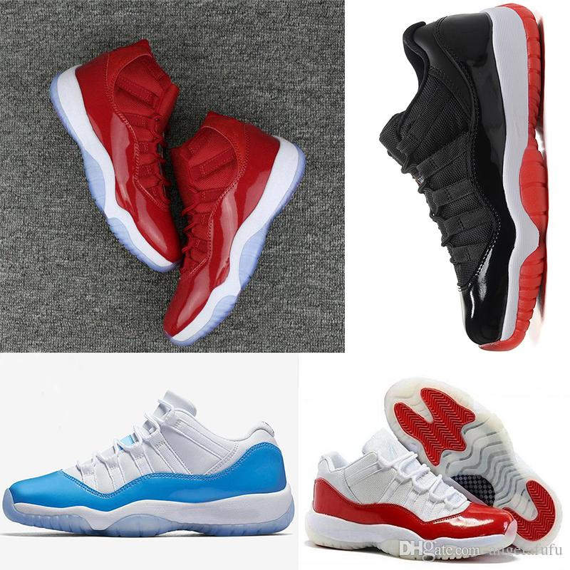 size 40 594a4 bedc4 With box 2018 11 Gym Red Space Jam Chicago Win like 82 11s Men Basketball  Shoes Women Athletic Sports Sneakers US 5.5-13