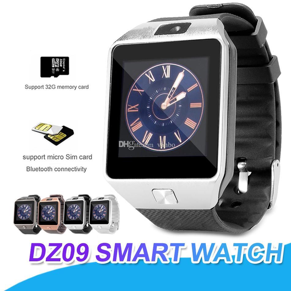 2c4798d7bee DZ09 Smart Watch Wristband Watches Android SmartWatch SIM Intelligent Mobile  Phone With Pedometer Anti Lost Camera Smart Watch Retail Box Kids Smart  Watch ...