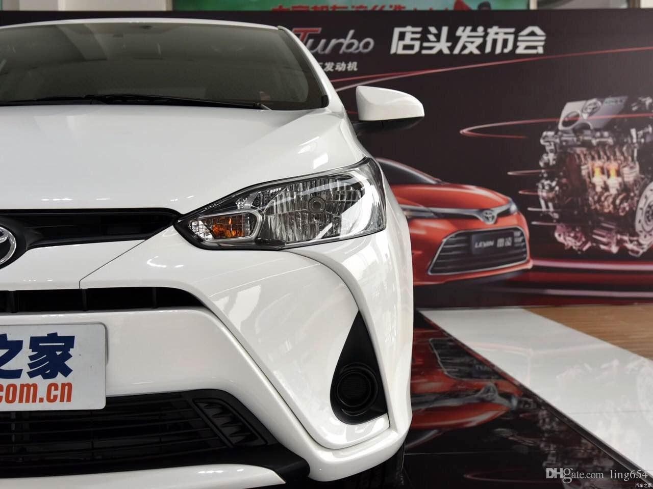 Автомобиль DRL комплект для Toyota Yaris L 2017 светодиодные дневные ходовые огни бар противотуманные фары лампы поворота Signa дневного света автомобиля светодиодные drl свет