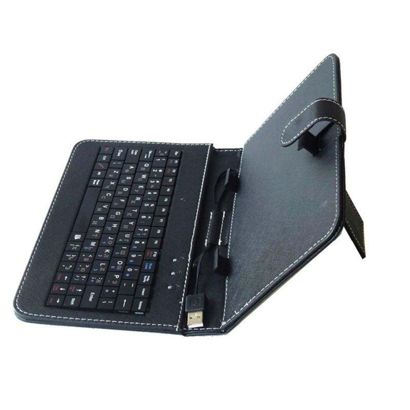 Top Quality Hot Sale Universal Tablet Case with Micro USB Keyboard For 9 inch Tablet PC for Nexus 9