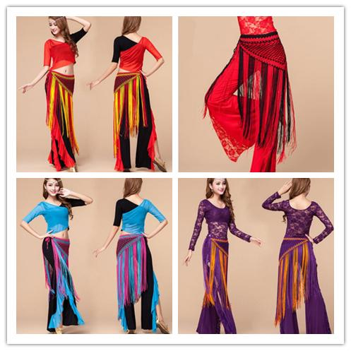 b6ec2a72 2019 Women'S Belly Dancing Hip Wrap Belt Tribal Sequins Fringe Tassel  Costume Shawl Fringe Skirt Wrap Hip Shaker From Olina347, $13.07 |  DHgate.Com
