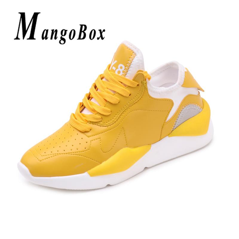 1a827cf1b 2019 Jogging Sneakers Ladies Yellow Black Gym Shoes For Girls Hard Wearing  Women Running Trainers Non Slip Female Athletic Footwear From Mangosteeng