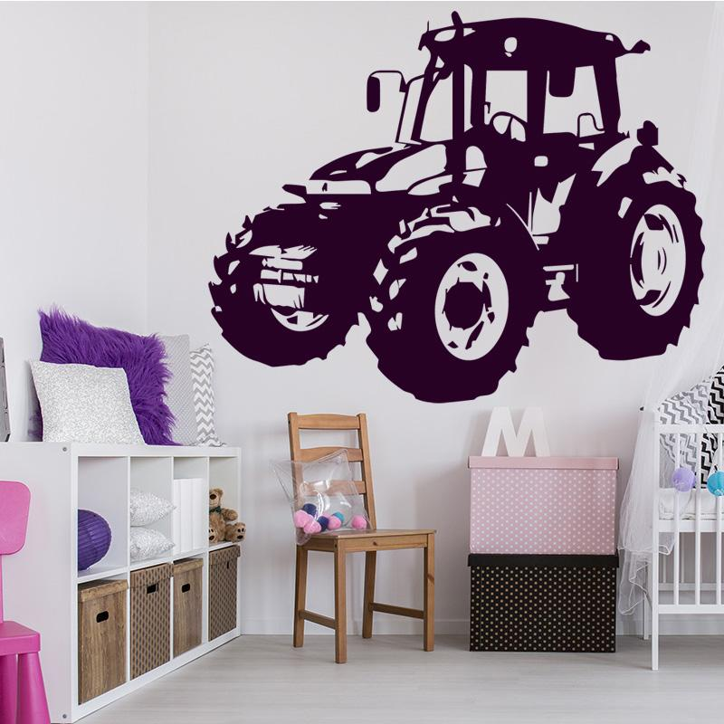 Morden Design Car Wall Sticker For Kids Bedroom Accessories Self