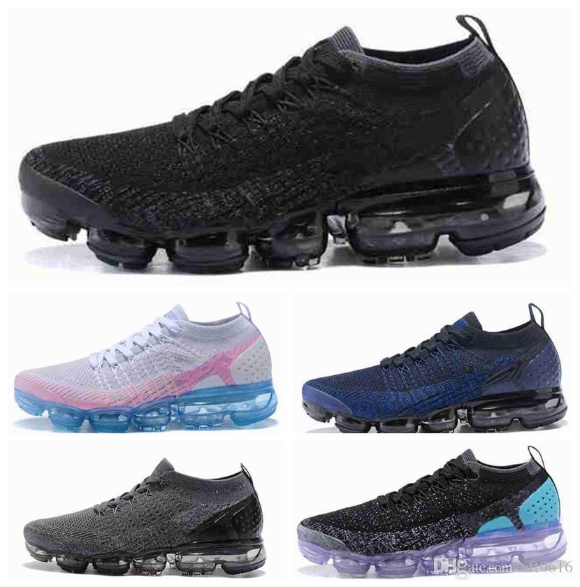 brand new 03e27 aef16 Acheter 2018 Vapormax 2 Arc En Être Soyez Vrai Hommes Shock Acronyme  Chaussures De Course Mode Hommes Casual Vapor 2.0 Chaussures Mens Trainers  Sport ...